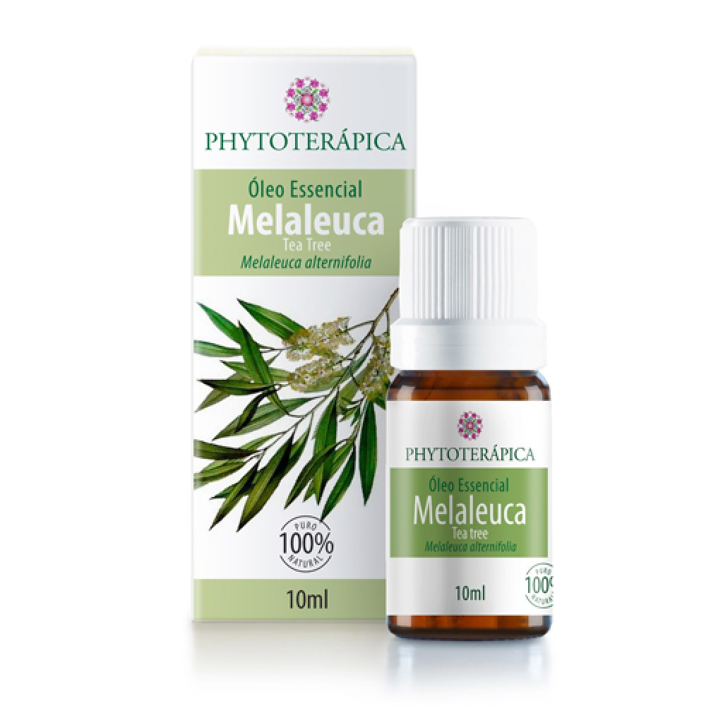 Foto de Óleo Essencial de Melaleuca (Tea Tree) – 10ml