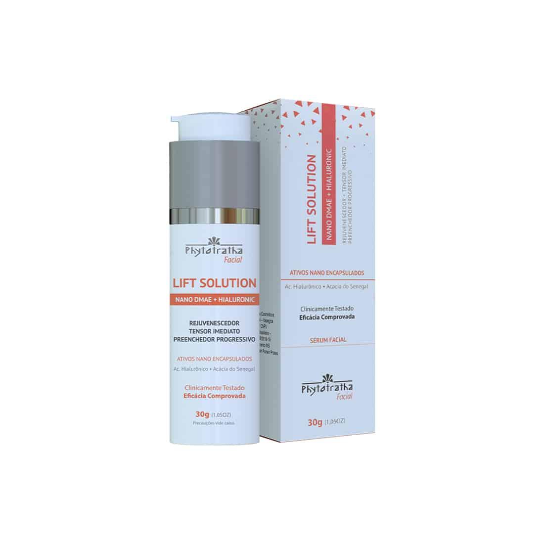 Foto de Lift Solution – Sérum Facial Nano DMAE + Ácido Hialurônico 30g